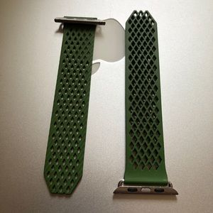 Other - Apple Watch band olive green
